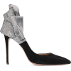 Aquazzura embellished bow pumps - Zapatos clásicos -