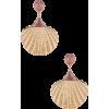 Ariel Shell Drop Earring  SHASHI brand: - Earrings -