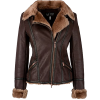 Armani Jeans Shearling Aviator Jacket - Chaquetas -