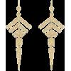 Arrow earrings - Aretes -