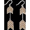 Arrow earrings - Earrings -