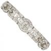 Art Deco Diamond and Platinum Bracelet - Cinturones - $22.00  ~ 18.90€