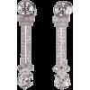 Art Deco Diamonds Earrings - Earrings - $33.00
