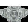 Art Deco Platinum and diamond ring - Cinturones - $250.00  ~ 214.72€