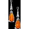 Art Deco earrings circa 1920 - Kolczyki -