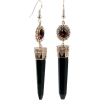 Art deco earrings - Naušnice -