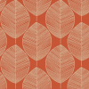 Arthouse Options Retro Leaf Wallpaper - Illustrations -