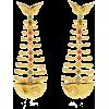 Artisans of IQ Sarilla 18K Gold-Plated C - Earrings -