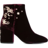 Ash embroidered ankle boots - Buty wysokie -