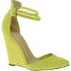 Asos Lime Wedges - Sandale -