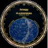 Astronomy planisphere - Ilustracije -