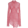 Asymmetrical lace dress - Dresses -