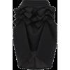 Asymmetric-hem wool-gabardine midi skirt - Faldas -