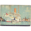 Atlantis cruise steamer postcard - Предметы -