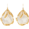 Aurelie Bidermann Gold Pearl Earrings - Ohrringe - $310.00  ~ 266.25€