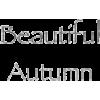 Autumn text - Texts -