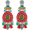 Ayala Bar shell beach margarita earrings - Earrings -