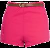 Shorts Pink - 短裤 -