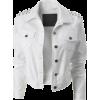 Jacket - Coats White - Jaquetas e casacos -