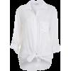 Long sleeves shirts White - Košulje - duge -