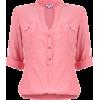 Azrych Shirts Pink - Koszule - krótkie -