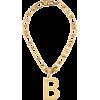 BALENCIAGA B Chain necklace - Necklaces -