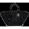 BALENCIAGA Bistrot S PVC basket tote bag - Kleine Taschen -