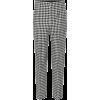 BALENCIAGA Checked virgin wool pants - Capri & Cropped -