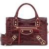 BALENCIAGA Classic City Mini croc-effect - Hand bag -