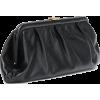BALENCIAGA Cloud XL leather clutch - Borse con fibbia -