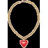 BALENCIAGA Heart necklace - Collares -