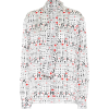 BALENCIAGA Printed silk-jacquard blouse - Koszule - długie -