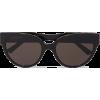 BALENCIAGA Round-frame acetate sunglasse - Óculos de sol -