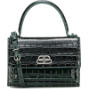 BALENCIAGA Sharp XS leather shoulder bag - Kurier taschen -