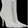 BALENCIAGA Slash Heel glitter boots - Buty wysokie -