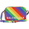 BALENCIAGA  Ville XS rainbow-stripe leat - Putne torbe - $845.00  ~ 5.367,92kn