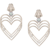 BALENCIAGA heart pearl earrings - Earrings -