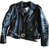 BALENCIAGA leather biker jacket - Jacket - coats -
