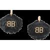BALENCIAGA mermaid shell BB earrings - Earrings -