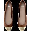 Flats Brown - Ballerina Schuhe -