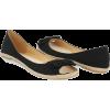 Flats Black - Flats -