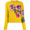 BALLANTYNE floral knit jumper - Pullover -