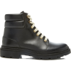 BALLY black leather hiking boot - Boots -