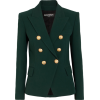 BALMAIN Double-breasted crepe blazer - Abiti - £1,665.00  ~ 1,881.61€