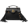 BALMAINBBuzz fringed leather shoulder ba - Borsette -