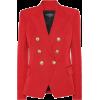 BALMAIN Wool blazer red - Suits - $2,095.00