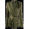 BALMAIN belted double-breasted jacket - Jacket - coats -