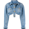 BALMAIN cropped denim jacket - Jacket - coats -