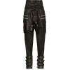 BALMAIN high-waisted biker trousers - Rajstopy -