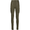 BALMAIN high-waisted buttoned trousers - Jeans -